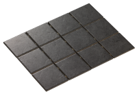 DIAMOND DARK GREY MATE 10X10