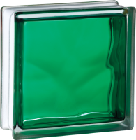 CLOUDY IN-COLORED GREEN 19X19X8CM