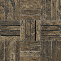 Mosaic Oblong Rustic Driftwood