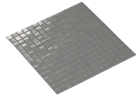 -Mosaic Iron Grey 2X2
