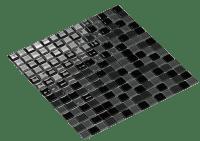 Mosaic Cristal Dark Grey 2X2