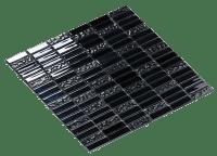 Mosaic Cristal Metal 1.5X4.8