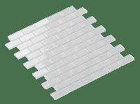 Mosaic Cristal Super White 2.3X4.8