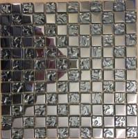 Mosaic Cristal Silver 2,3X2,3