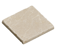 Silver Botticino 10X10 Marmor