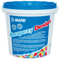 Kerapoxy Design 728 Mørkgrå 3Kg
