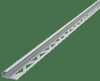 -Hjørnelist Rund Blank 10mm 2.5M