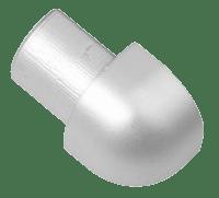 Hjørneskjøt Rund Matt 12,5mm