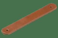 Compact Håndtak Brun Lær 19 cm 2Pk