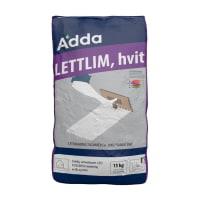Adda Lettlim Hvit 15kg