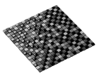 MOSAIC CRISTAL ONYX BLACK 1,5X1,5