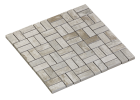 MOSAIC PARALLEL WHITE PICKLED WOOD