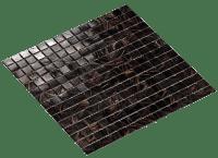Mosaikkflis Ebony 2x2 cm