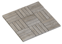 -Mosaic Oblong Bleached Oak