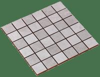 Mosaico Canada Silver-Grey Mix 5x5
