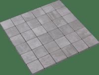 -Mosaic Concreto Grigio 5x5