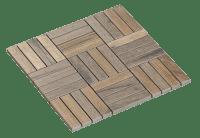 Mosaic Oblong Jatoba 2,3X9,8
