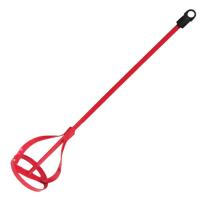 SV Malervisp Rød 80mm 80x400x8mm Rokka