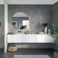 Fibo Lentini Grey Slett Plate-