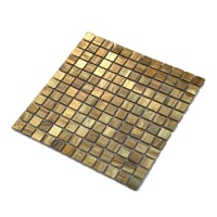 Mosaic Brass Unpolished 2,3x2,3