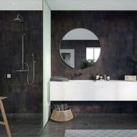Fibo Lentini Dark Slett Plate-