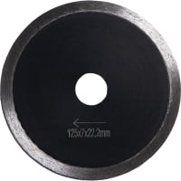 Diacore diamantblad basic125mm