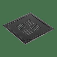 Kern Slukrist Elben sort matt 20x20cm