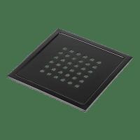 Kern Slukrist Mosel sort matt 20x20cm