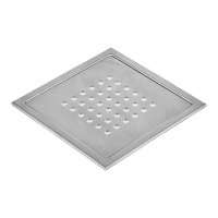 Kern Slukrist Mosel blank børstet 20x20c