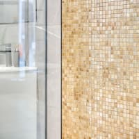 Mosaic Golden Stainless Steel 1,5x1,5