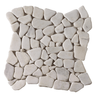 White Random Marmor