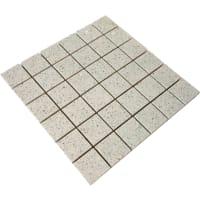 Mosaic Quartz Stone White 5x5