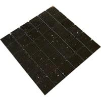 Mosaic Quartz Stone Black 5x5