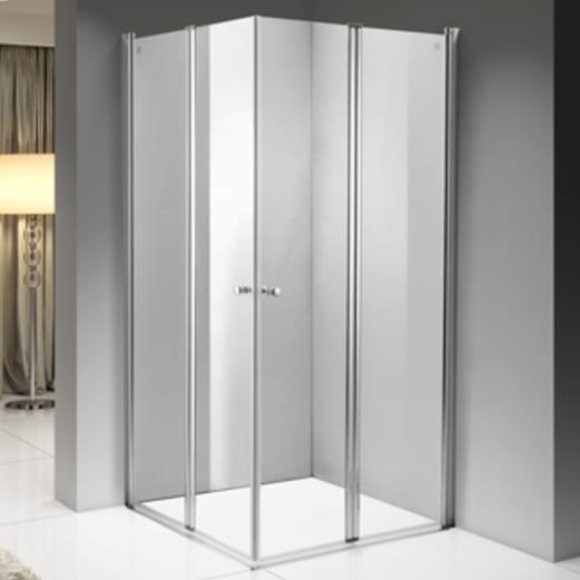 foldet dører dusj