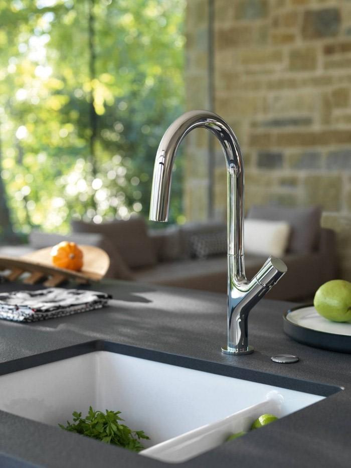 Keramikk vasker inneholder den perfekte blandingen av natur og design