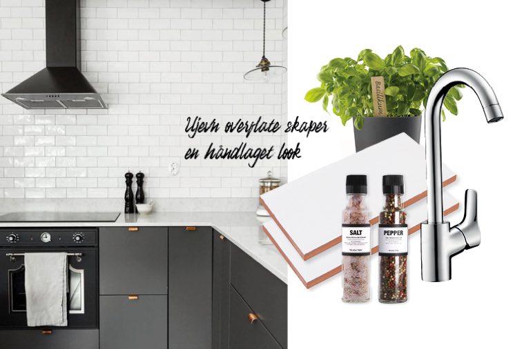 Kjøkkeninspirasjon med Devon Super White kjøkkenflis