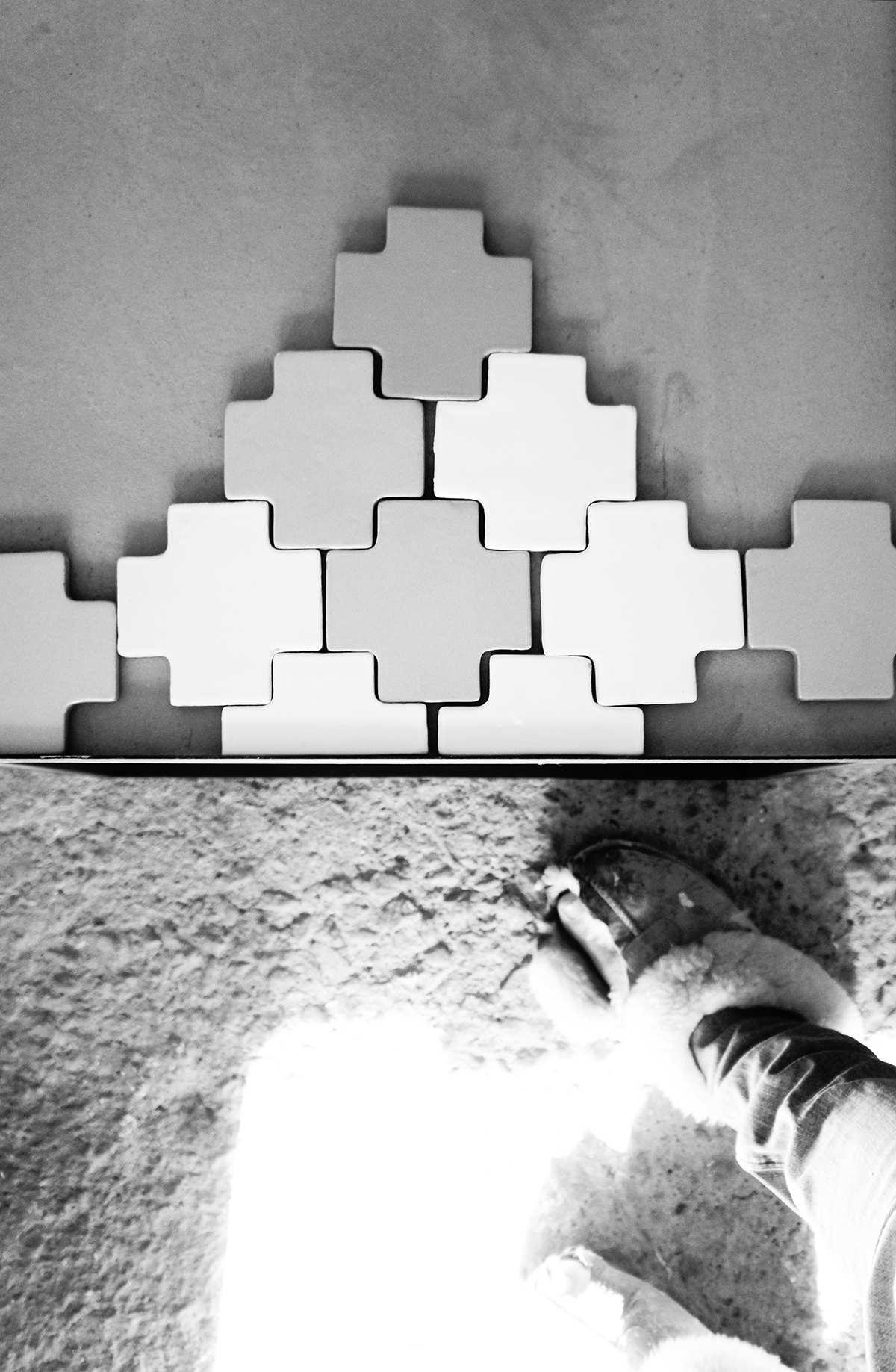 Designet og håndlaget av Anette