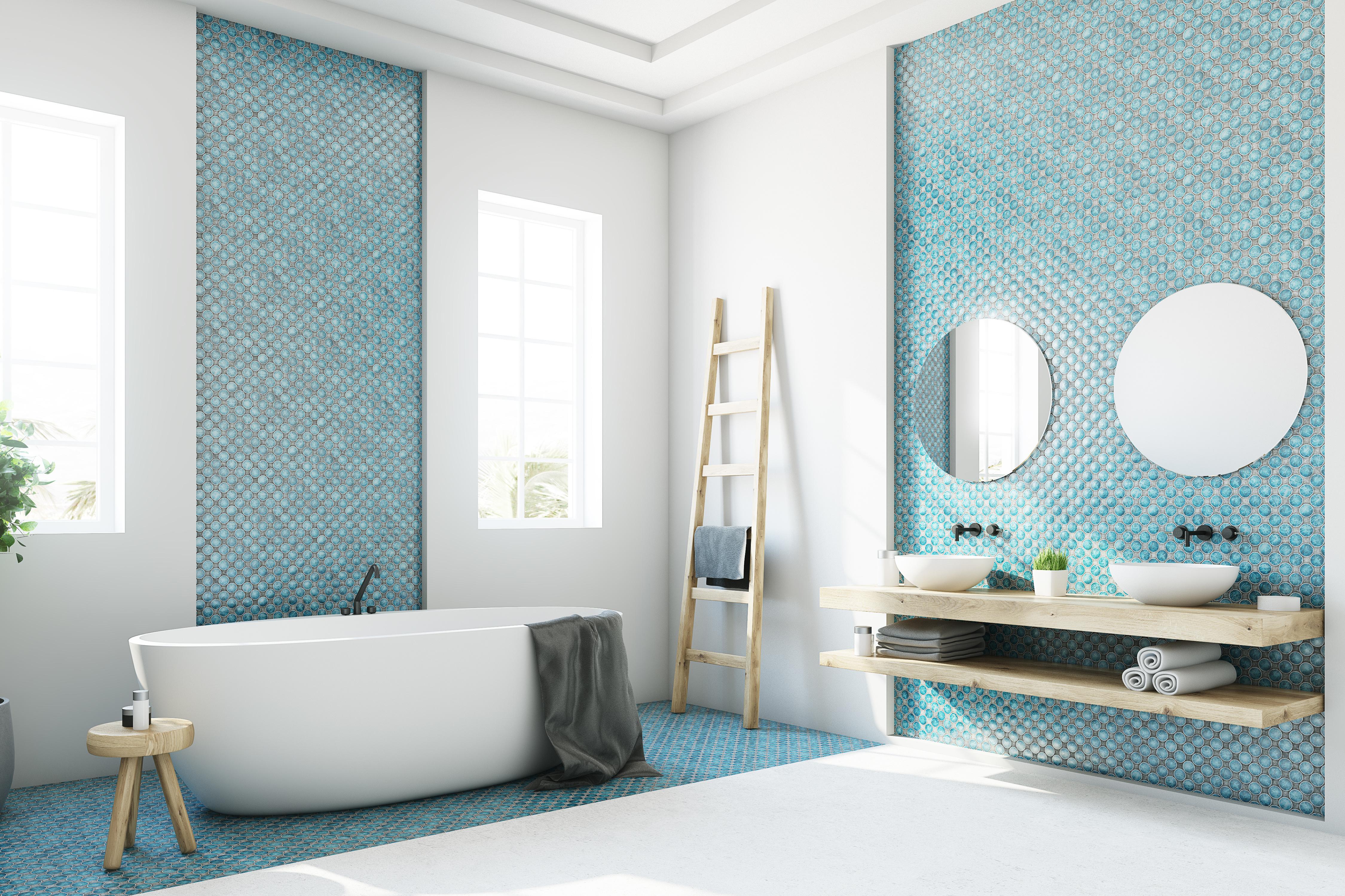 mosaikkfliser til baderom