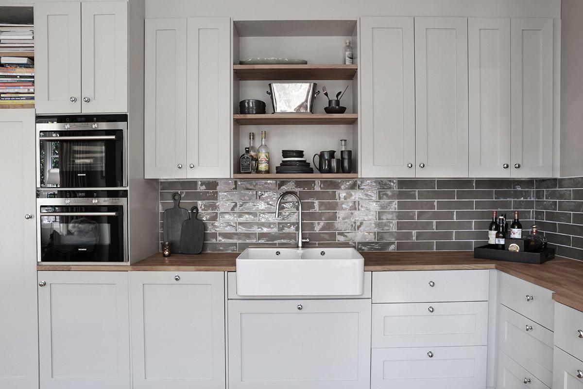 Devon kjøkkenflis passer til klssisk kjøkken