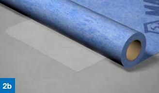 Påfør Mapeguard WP Adhesive på gulvoverflaten rundt slukmansjetten