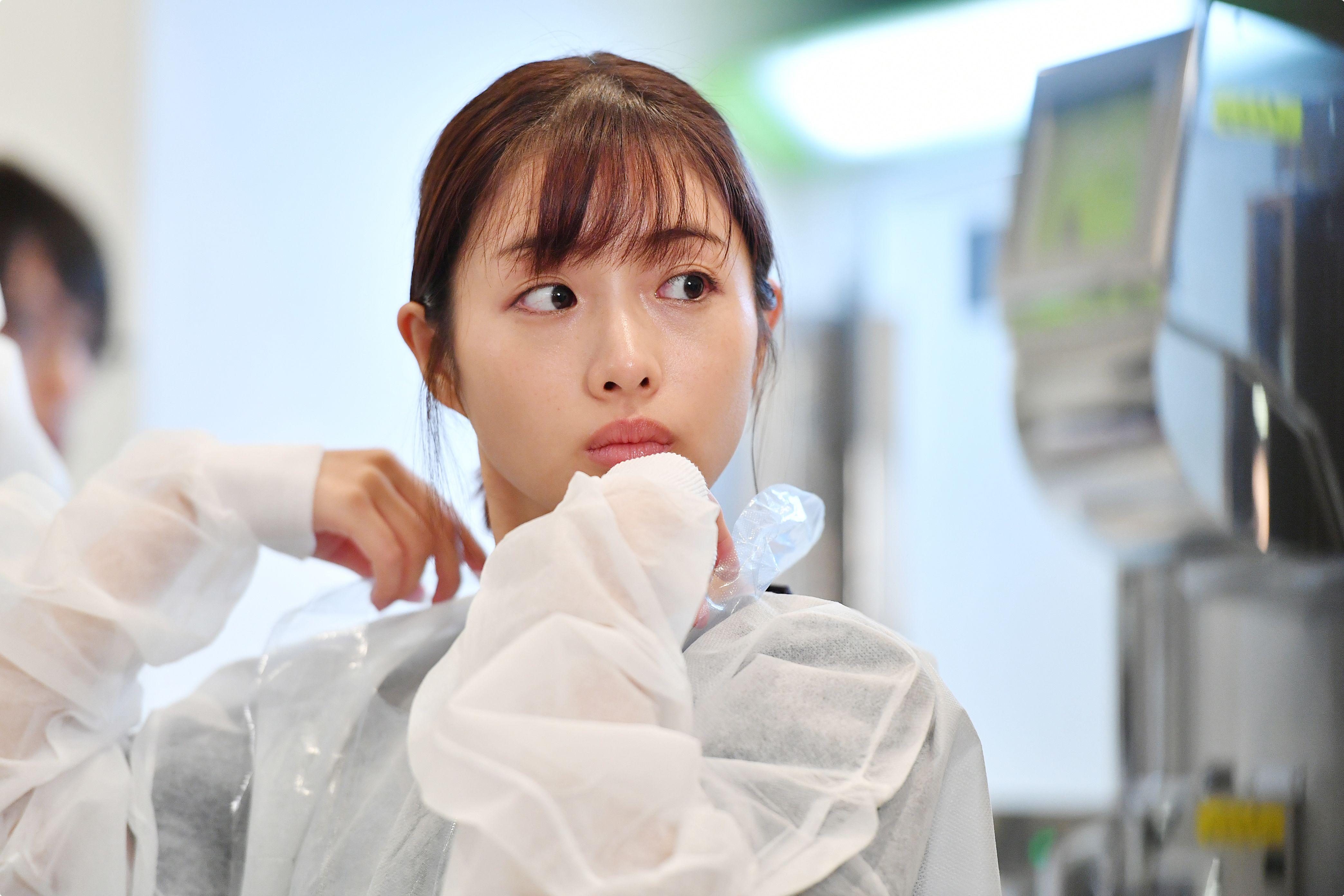 ドラマ『アンナチュラル』主演の石原さとみさん((c)ドリマックス・テレビジョン/TBS)