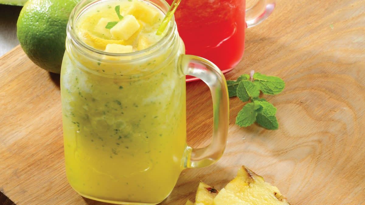Ananasų mochitas (mojito)