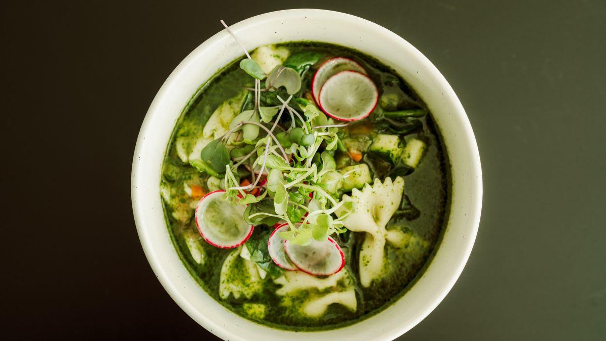 Pesto zupa