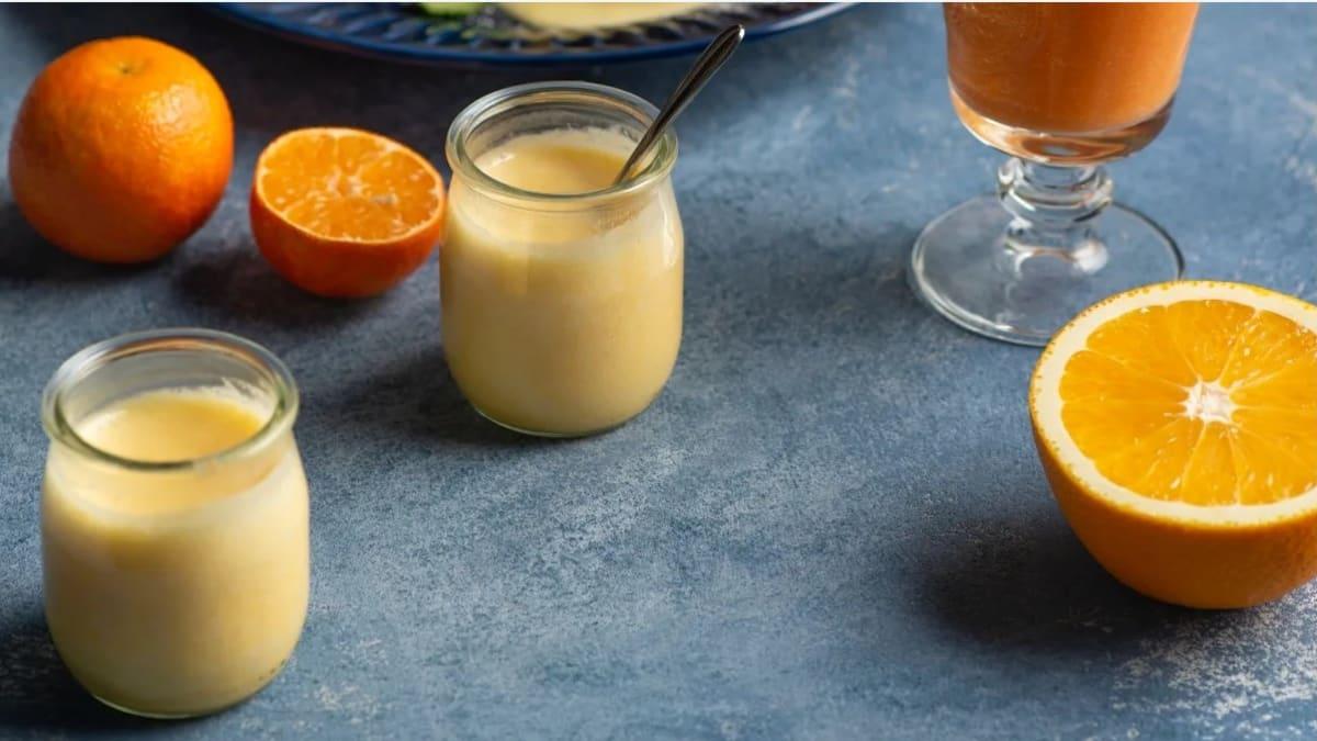 Mandarīnu krēms pankūkām, vafelēm vai desertiem
