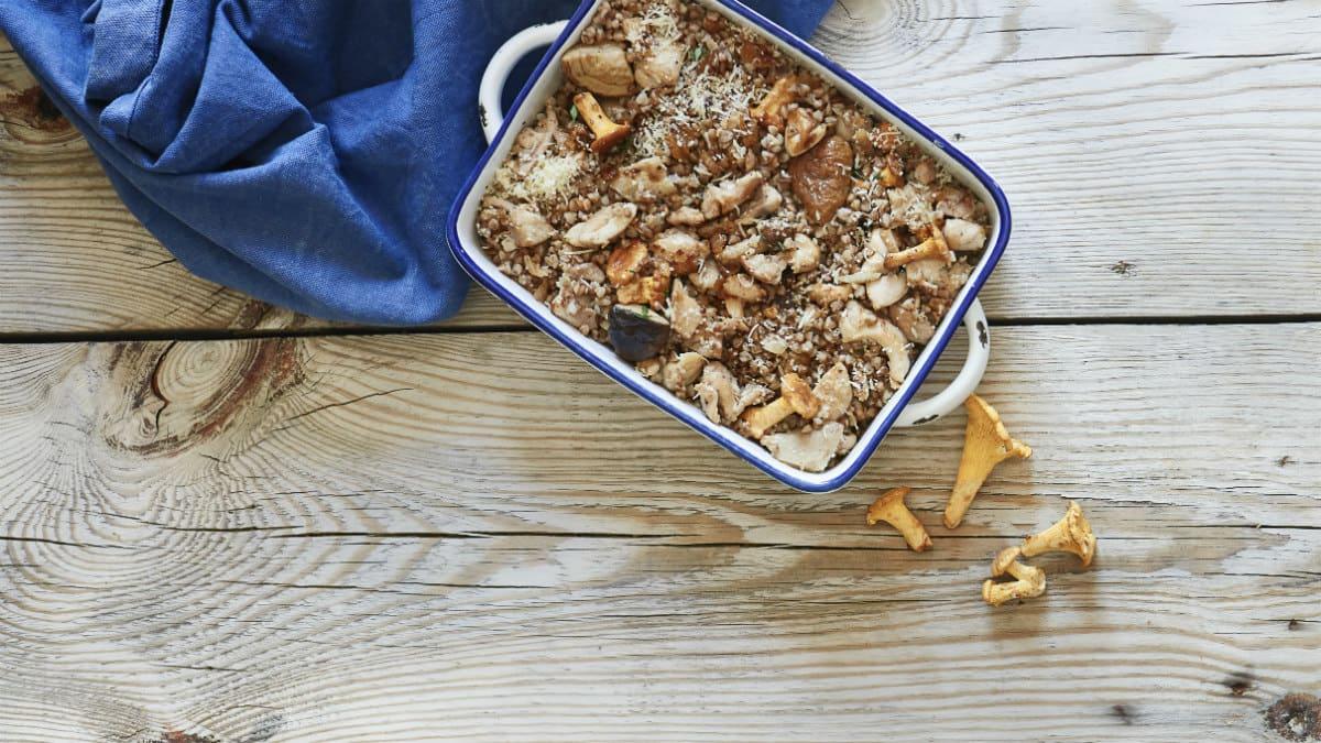 Praetud kanakintsud tatra ja seentega