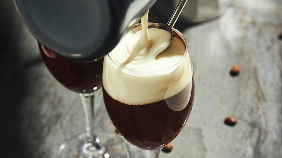 Šokolādīgā īru kafija