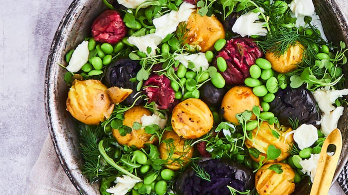 Siltie kartupeļu salāti