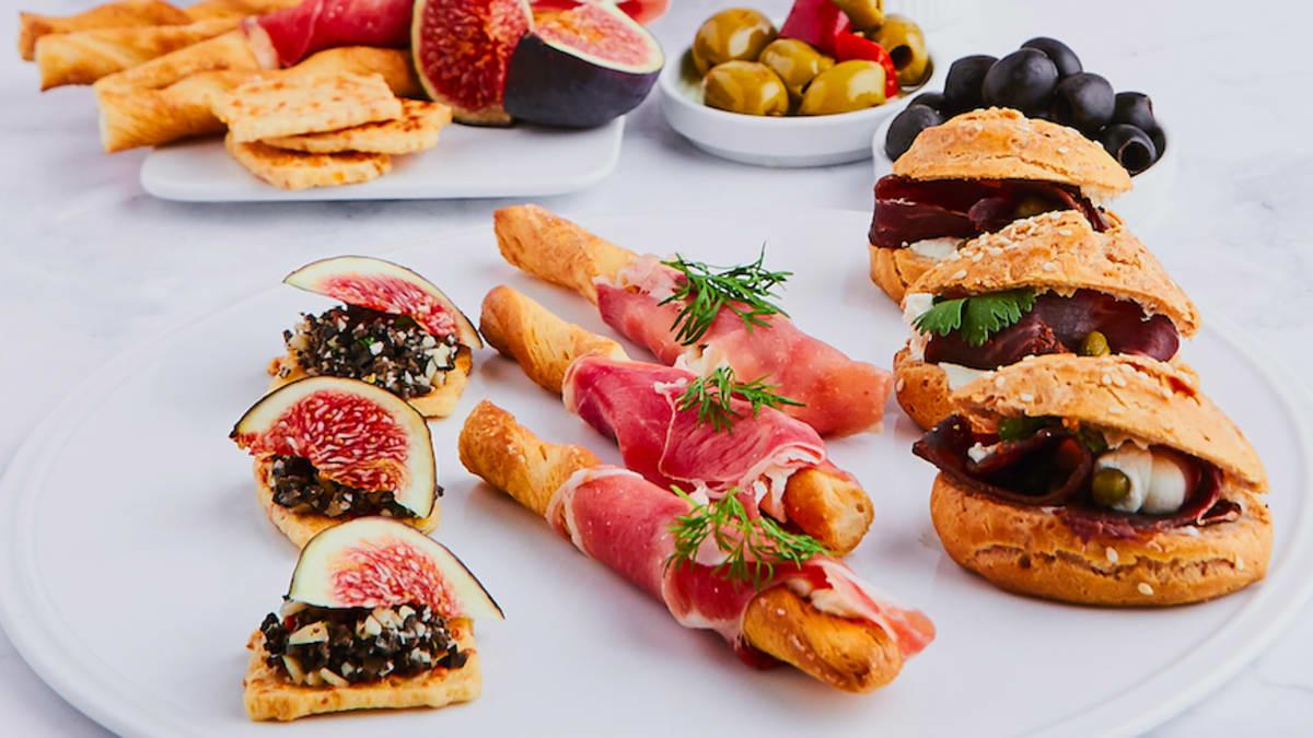 Gaisīgās maizītes ar «Basturma»