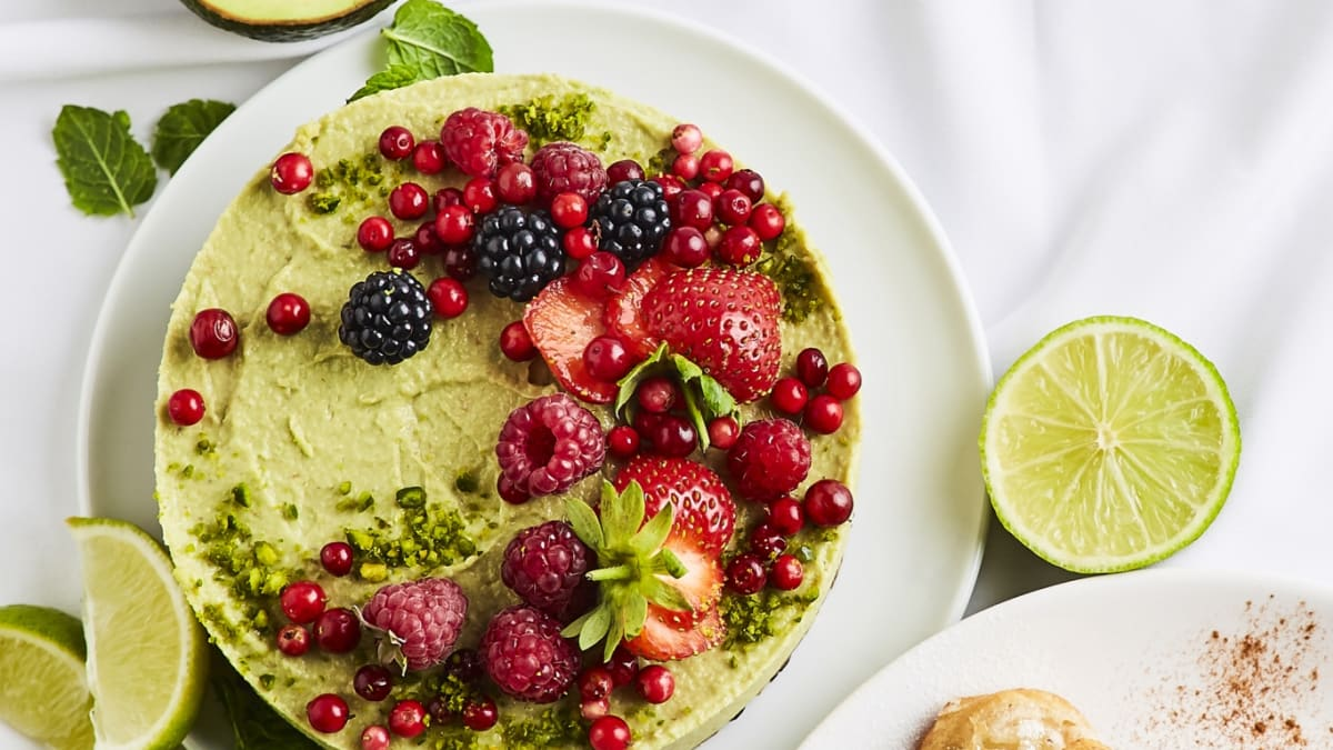 Svaigā avokado kūka