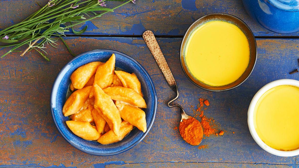 Virtinukai su saldžiosiomis bulvėmis ir varške be laktozės